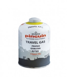 Butelie Pinguin Travel Gas 450