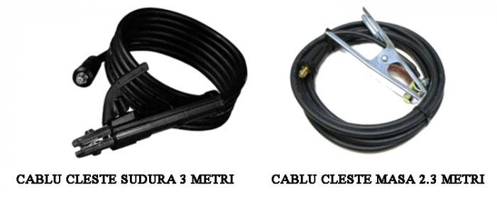 Aparat de sudura MegaGarden MMA 355 + Masca automata, Invertor, 355Ah, cablu sudura 3 metri [6]