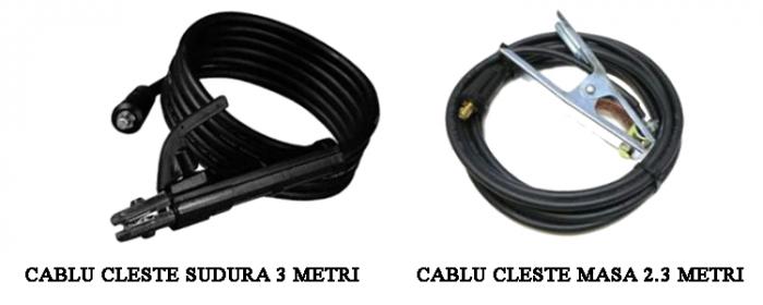Pachet MegaGarden Motofierastrau Profesional 7CP + Invertor sudura MMA 335 + Masca automata, cabluri 3 metri, 2 lame si 2 lanturi [6]