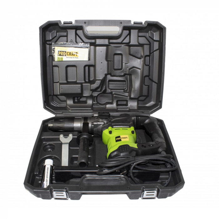 Ciocan Rotopercutor,Model PROCRAFT BH2350 SDS MAX, 2350W, 550RPM + Geanta Transport 2