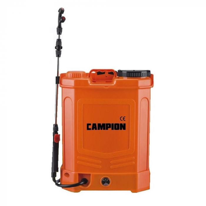 Pompa de stropit, CAMPION 20L, Regulator Presiune + Acumulator 0