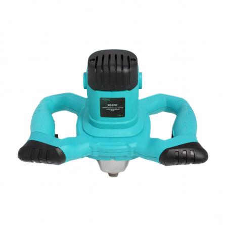 Amestecator de tip mixer, vopsea/mortar/ glet, 1200W, 50cm [2]