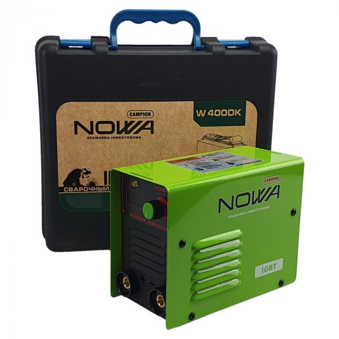 Aparat de Sudura - Invertor NOWA 400, Cutie Transport, Afisaj Electronic, Electrozi 1.6-5mm [2]