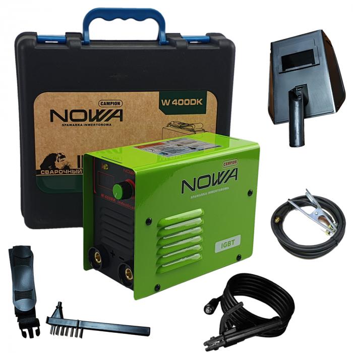 Aparat de Sudura - Invertor NOWA 400, Cutie Transport, Afisaj Electronic, Electrozi 1.6-5mm [0]