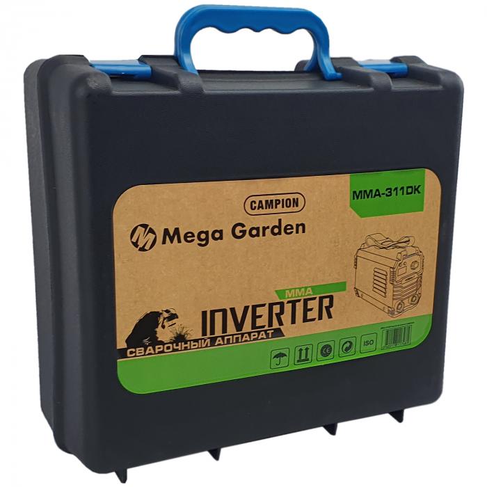 Aparat de sudura tip invertor MegaGarden MMA 311DK, 310Ah, cablu 3 metri, Accesorii Incluse,Cutie de Transport [5]