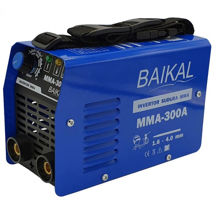 Aparat de sudura ( Invertor ) BAIKAL MMA 300A  + Masca automata cu cristale lichide + Manusi + Electrozi 1