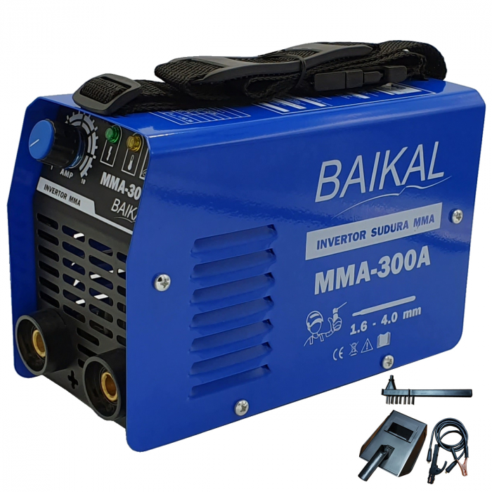 PACHET PROMO Baikal Motofierastrau (drujba), benzina 5CP + Aparat sudura 1