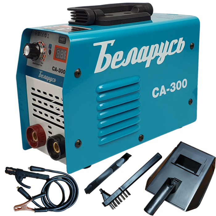 Aparat de sudura tip Invertor Belarus CM 300, afisaj electronic, ventilator racire [0]