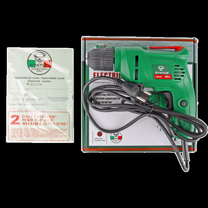 BORMASINA ELECTRICA STATUS D380, 380W, 3000RPM 4