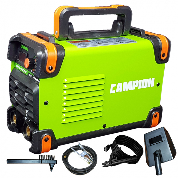 Aparat de Sudura tip invertor,Model CAMPION MMA 320DC, Afisaj Electronic, Accesorii Incluse, Cabluri 3 metri 0