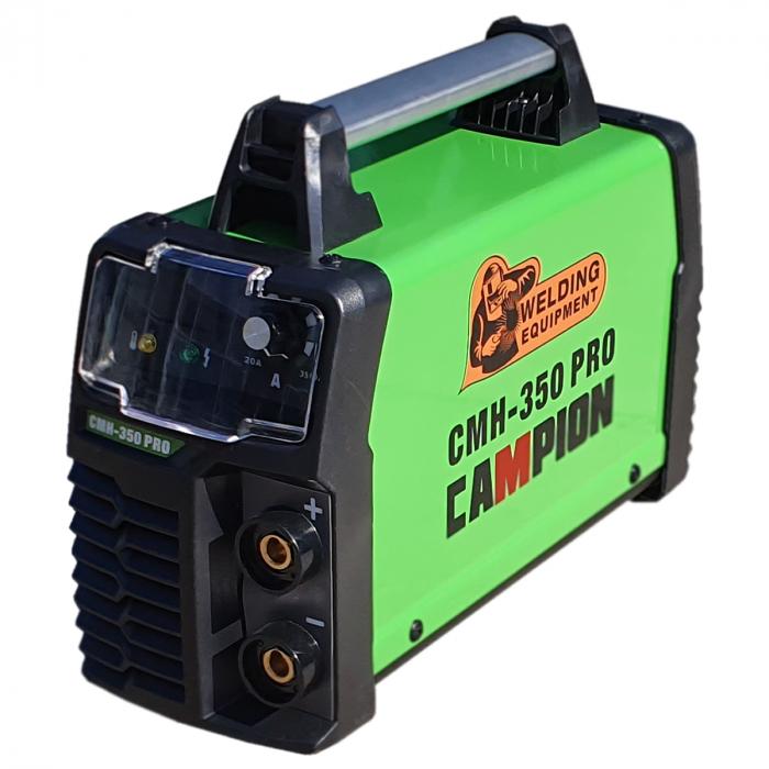 Aparat de Sudura - Invertor CAMPION CMH 350 PRO, Afisaj Electronic, Accesorii Incluse 1