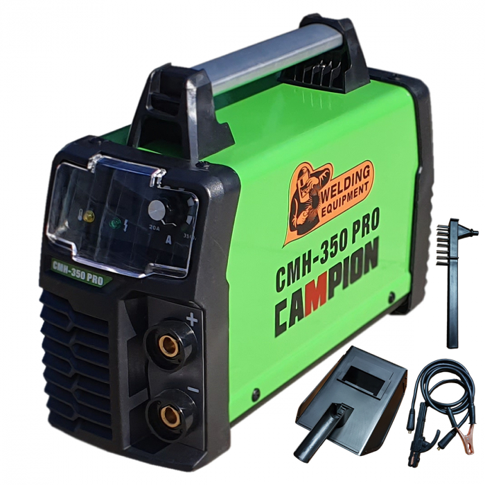 Aparat de Sudura - Invertor CAMPION CMH 350 PRO, Afisaj Electronic, Accesorii Incluse 0