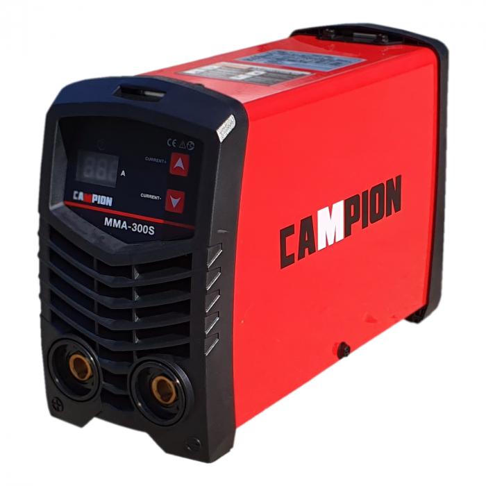 Invertor sudura tip Invertor CAMPION MMA 300S , Accesorii Incluse, Electrozi 1.6-5mm, Usor Manevrabil 1