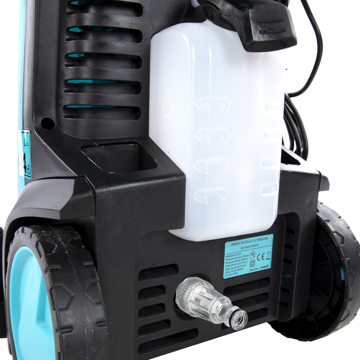 Aparat de spalat cu presiune 180Bar, Detoolz, 2400W, Smart Work [13]