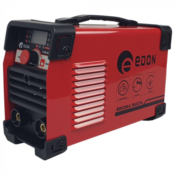 Invertor de sudura EDON MMA 365, afisaj electronic, ventilator racire, cablu sudura 2.8m, cablu masa 1.8m 1