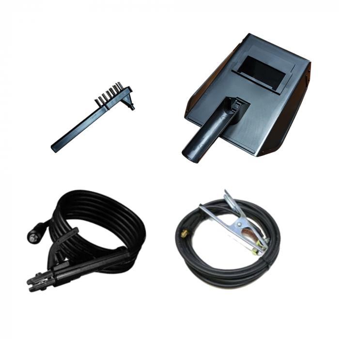 Invertor de sudura EDON MMA 365, afisaj electronic, ventilator racire, cablu sudura 2.8m, cablu masa 1.8m 2