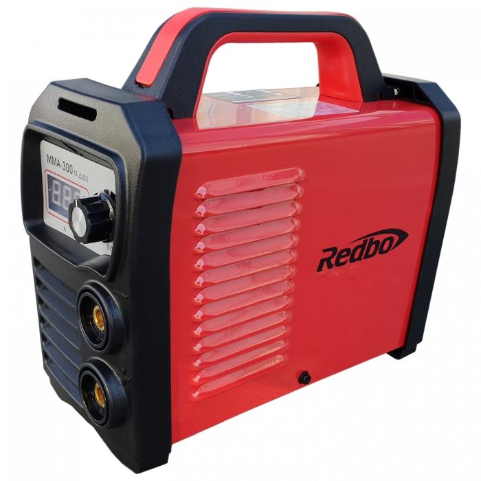 Invertor sudura Redbo MMA 300A, Accesorii Incluse, Electrozi 1.6-5 mm 2