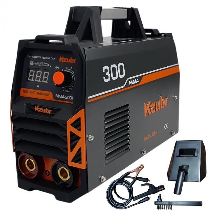 Invertor de sudura KZUBR MMA 300N, electrozi 1.6-5mm [0]