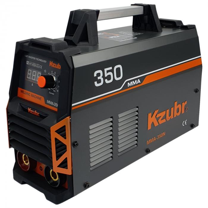 Invertor de sudura, KZUBR MMA 350N, electrozi 1.6-5mm 1