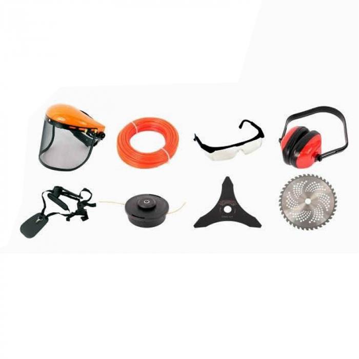 Pachet Promo: Micul Fermier, Motocoasa MF712 + Motofierastrau 5200, 5CP, 8 accesorii incluse [3]