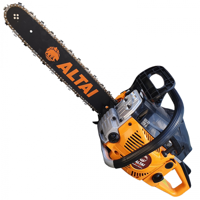 Motofierastrau ( drujba ) ALTAI 3850, 5.2CP, 2 lame, 3 lanturi 1