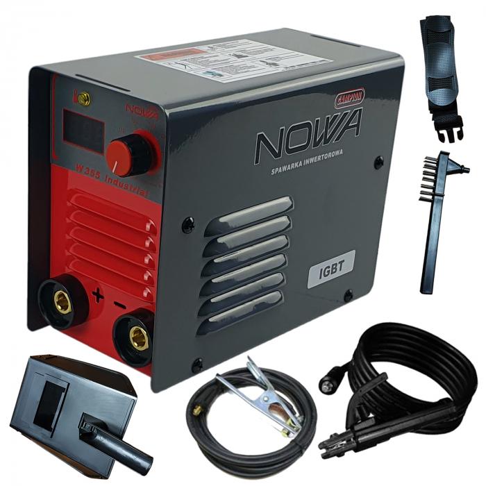 Aparat de Sudura tip Invertor,Model NOWA W355, Cabluri 3 metri,  Electrozi 1.6-5mm [0]