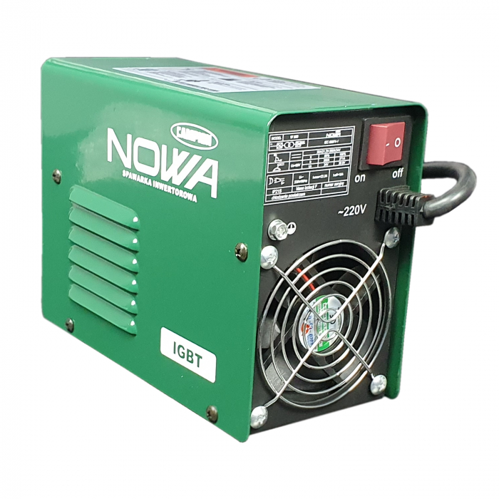 Aparat de Sudura tip Invertor,Model NOWA W355 + Masca automata,  Electrozi 1.6-5mm 1