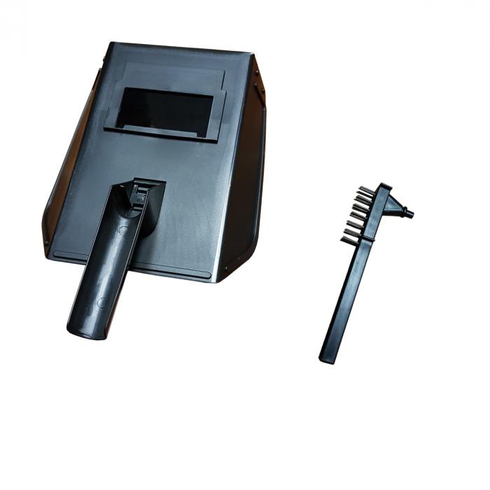 Pachet profesional: Aparat de Sudura (Invertor) Campion Ural Mash 400 XL + Masca Automata + Palmari + Electrozi + Prelungitor , Afisaj Electronic, Accesorii Incluse 7