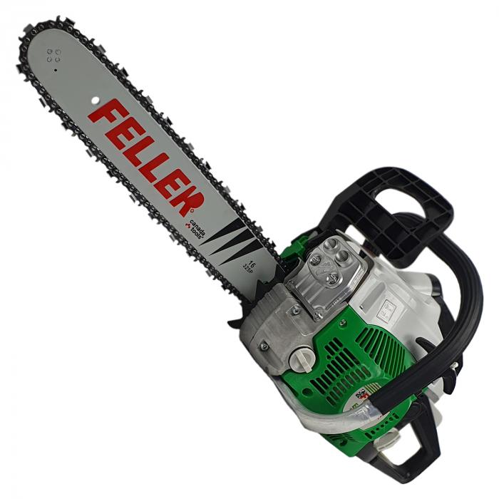 Pachet PROMO Feller by Canada Tools, Motofierastrau CS400 + Motocoasa GT 4200, 6CP, Totul Inclus 1