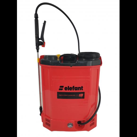 Pompa de stropit electrica Elefant SE18L, Volum 18l, 12V/8Ah, 3 tipuri de pulverizare [3]