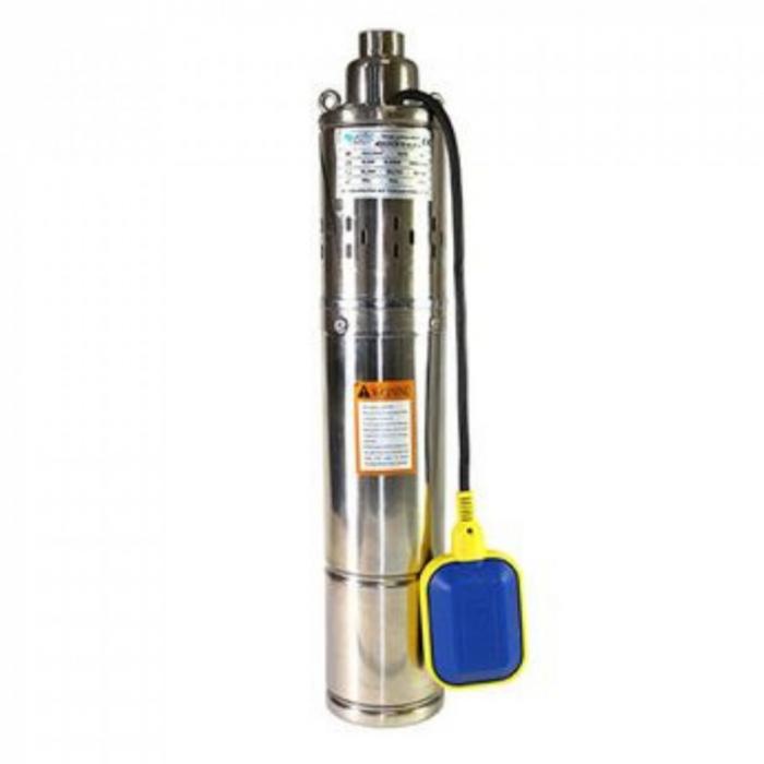 Pompa submeribila KRATOS 4QGD1.2-50-0.37-F, 370W, cu Flotor 0