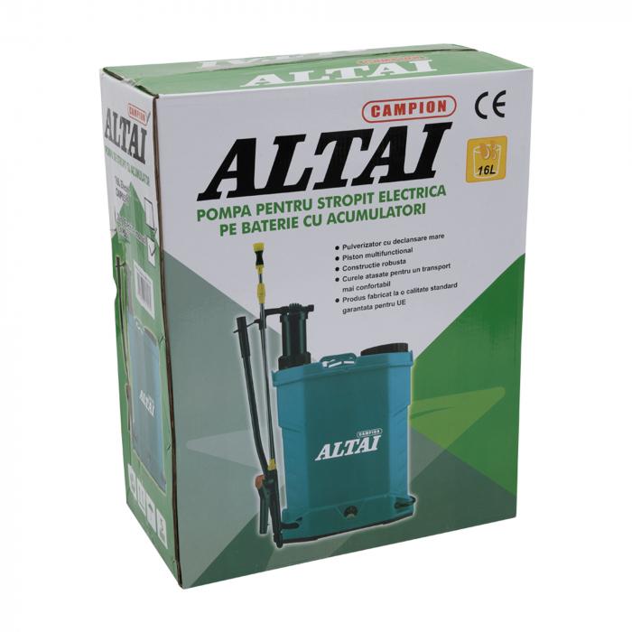 Pompa de stropit 2 in 1 Altai, electrica si manuala, vermorel [4]