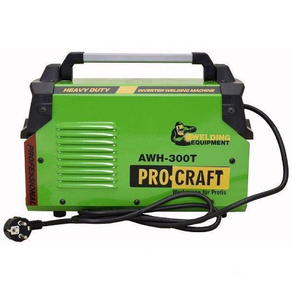 Aparat de sudura, Invertor ProCraft AWH 300 T , 300Ah, accesorii incluse
