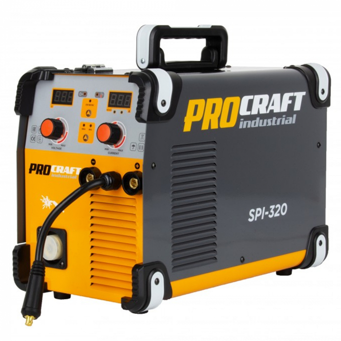 Aparat de sudura invertor MIG/MMA ProCraft Industrial PSI 320, Accesorii Incluse 0