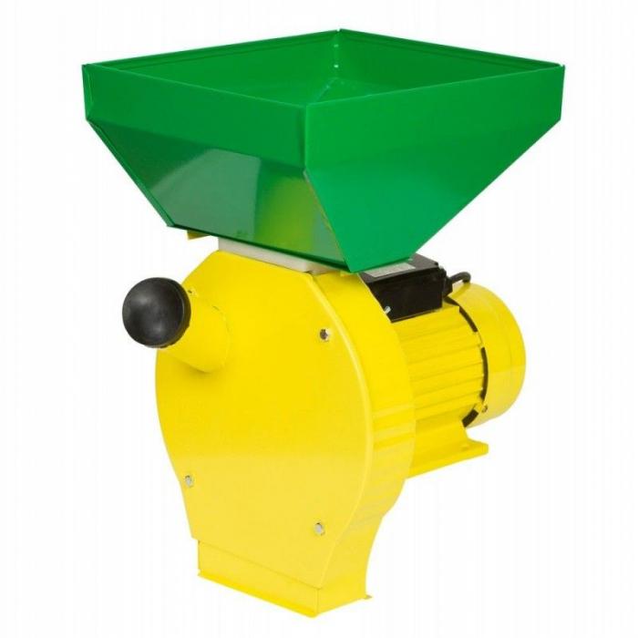 Moara pentru uruiala si cereale,Model Procraft 3.5 KW, Cuva Mare, 3000 RPM, 200 KG/H, 20 Ciocanele, 4 Site, 100% Cupru 0