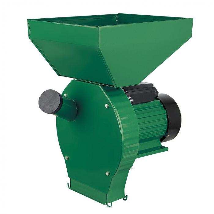 Moara cu ciocanele Verde/Rosie, 3,8kw, bobinaj cupru, cuva mare, 4 site incluse 0