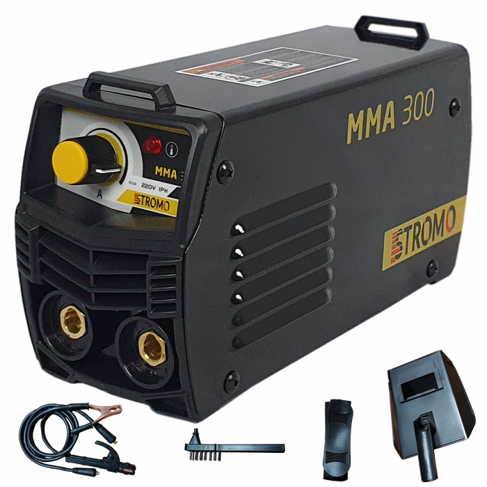 Aparat de sudura ( Invertor ) STROMO MMA 300, Cablu  3m, 320Amps 0