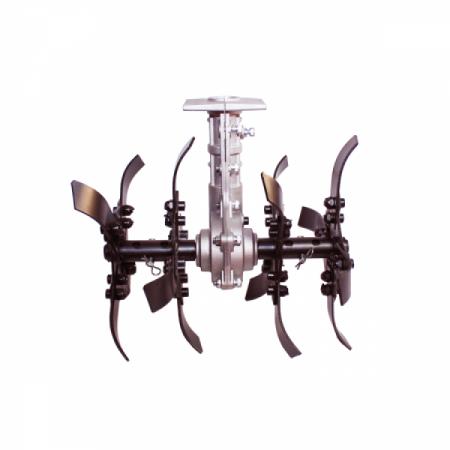 Motocoasa Micul Fermier GF 1310 + Cultivator + Ham dublu, 3.4 CP, 43 CC, 2 timpi, 150 cm Lungime Arbore, Accesorii Incluse5