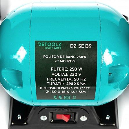 "Polizor de banc, 250W ,6"" ,MD3215S2"