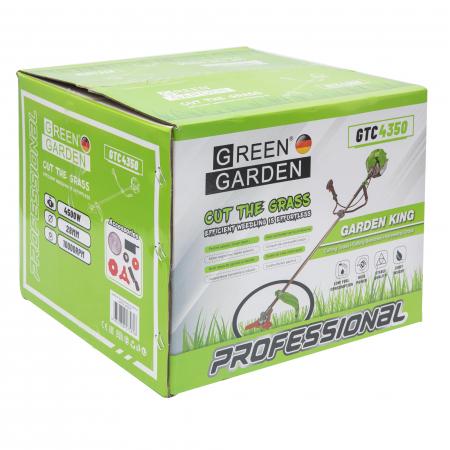 Motocoasa Profesionala GreenGarden GTC 4350,  6 cp, 4 tipuri de taiere [11]