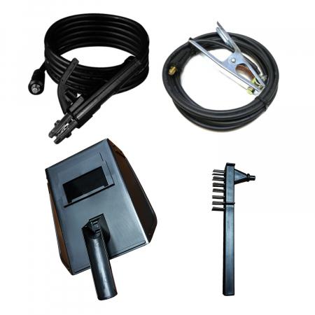 Invertor sudura EDON MMA 310A + Masca Automata, cu cristale lichide, cablu de sudura de 3 metri3