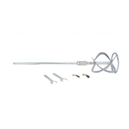 Amestecator de tip mixer, vopsea/mortar/ glet, 1200W, 50cm [4]