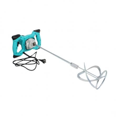 Amestecator de tip mixer, vopsea/mortar/ glet, 1200W, 50cm [0]