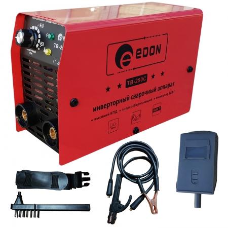 Aparat de sudura invertor Edon TB 250C, MMA, accesorii incluse, 250Ah0