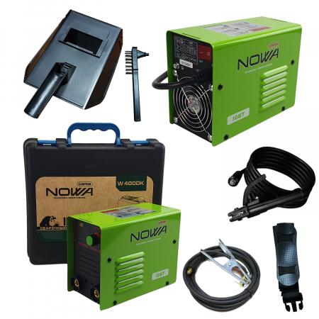 Aparat de Sudura - Invertor NOWA 400, Cutie Transport, Afisaj Electronic, Electrozi 1.6-5mm [1]