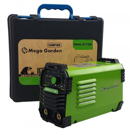 Aparat de sudura tip invertor MegaGarden MMA 311DK, 310Ah, cablu 3 metri, Accesorii Incluse,Cutie de Transport [3]