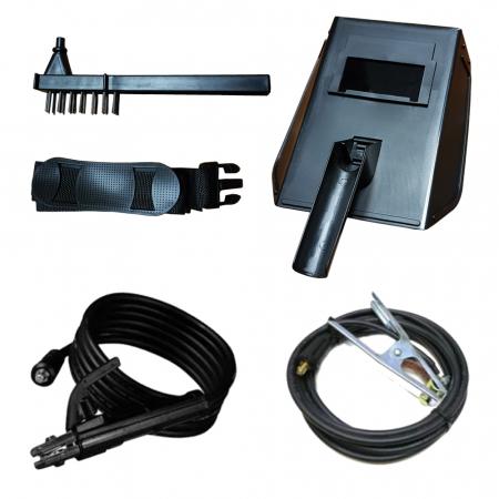 Aparat de sudura tip invertor MegaGarden MMA 311DK, 310Ah, cablu 3 metri, Accesorii Incluse,Cutie de Transport [2]