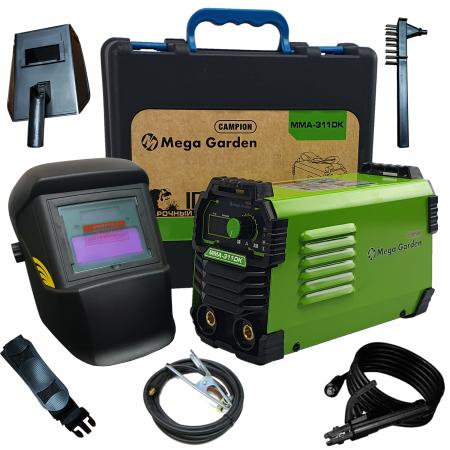 Aparat de sudura tip invertor MegaGarden MMA 311DK, 310Ah, cablu 3 metri, Accesorii Incluse,Cutie de Transport [0]