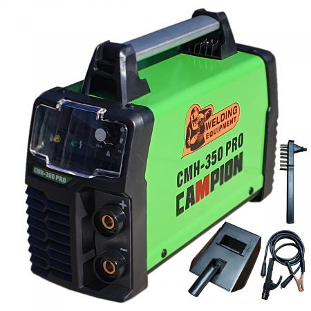 Aparat de Sudura - Invertor CAMPION CMH 350 PRO, Afisaj Electronic, Accesorii Incluse0