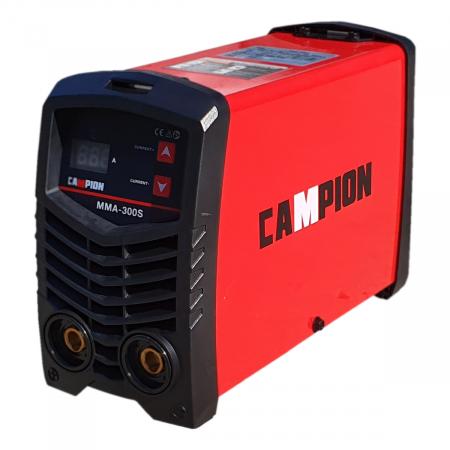 Invertor sudura tip Invertor CAMPION MMA 300S , Accesorii Incluse, Electrozi 1.6-5mm, Usor Manevrabil1
